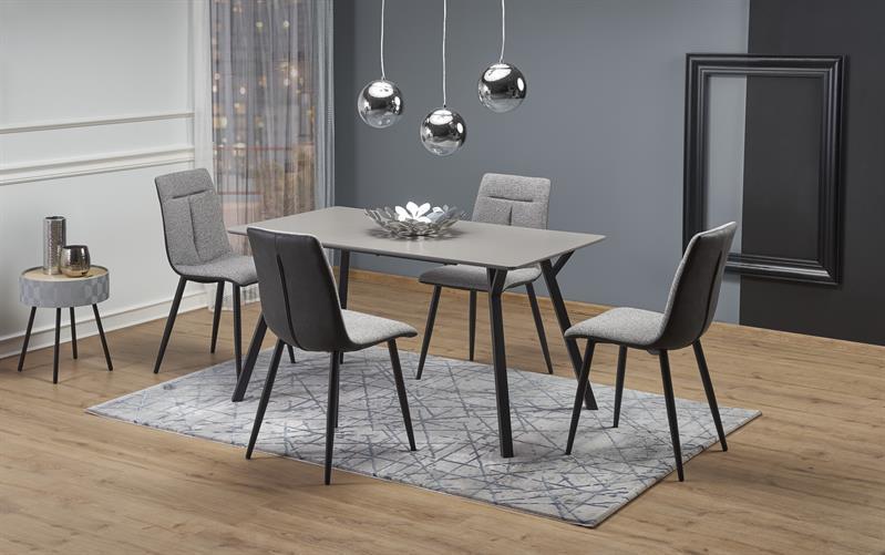 Стол BALROG Halmar 140х80 серый