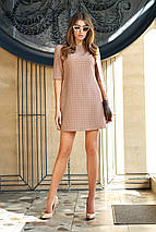 Универсальное красивое женское платье в мелкую клетку (Гарсия jd), фото 3