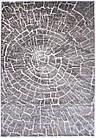 Коврик современный SOFIA 7844a 0,8Х1,5 Коричневый прямоугольник, фото 5