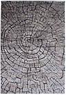Ковер современный SOFIA 7844b 2Х2 Коричневый круг, фото 5