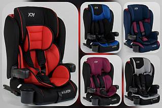 Детское автокресло JOY  ISOFIX, универсальное, группа 1/2/3, вес ребенка от 9-36 кг