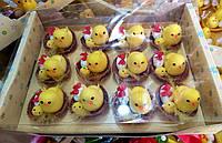 Декоративные пасхальные цыплята