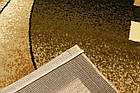 Дорожка современный SUPER ELMAS 4077A 3Х2 Бежевый с красным , фото 3