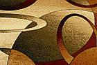 Дорожка современный SUPER ELMAS 4723A 1,5Х0,55 КРЕМОВЫЙ , фото 2