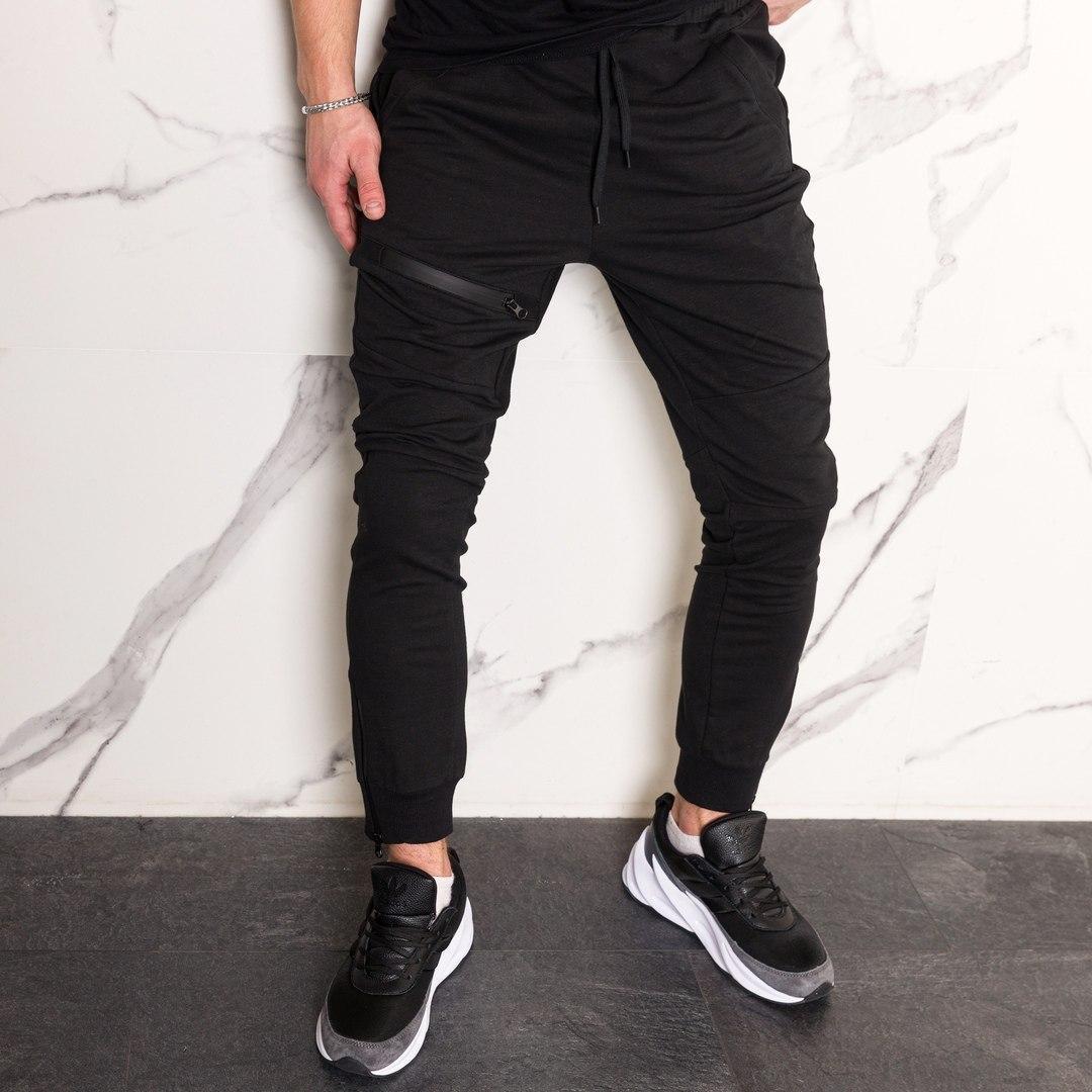 Спортивные штаны ТУР Fenix черные