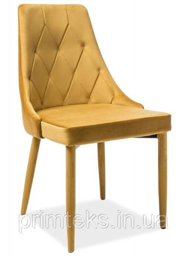 Стул Trix Velvet ( Трикс Вельвет) жёлтый