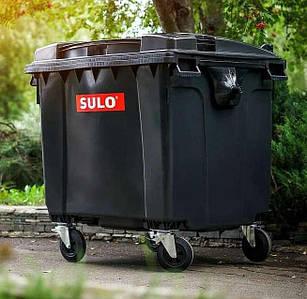 Sulo пластиковый контейнер для мусора 1100 литров