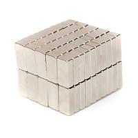Магниты неодимовые сильные 15x5x3мм N35 10шт
