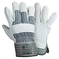 Перчатки комбинированные замшевые р10.5, класс АВ (цельная ладонь) SIGMA (9448341)