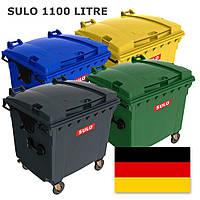 Sulo євроконтейнер сміттєвий пластиковий  1,1 м3