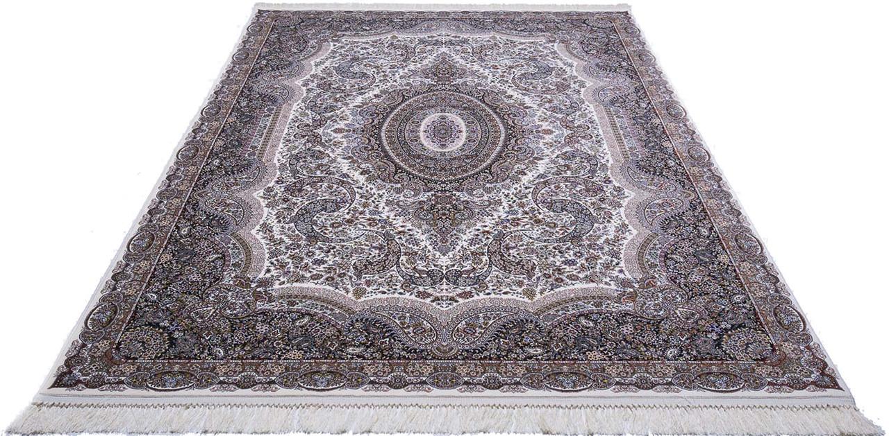 Ковер восточная классика Tabriz 24 2Х3 КРЕМОВЫЙ прямоугольник