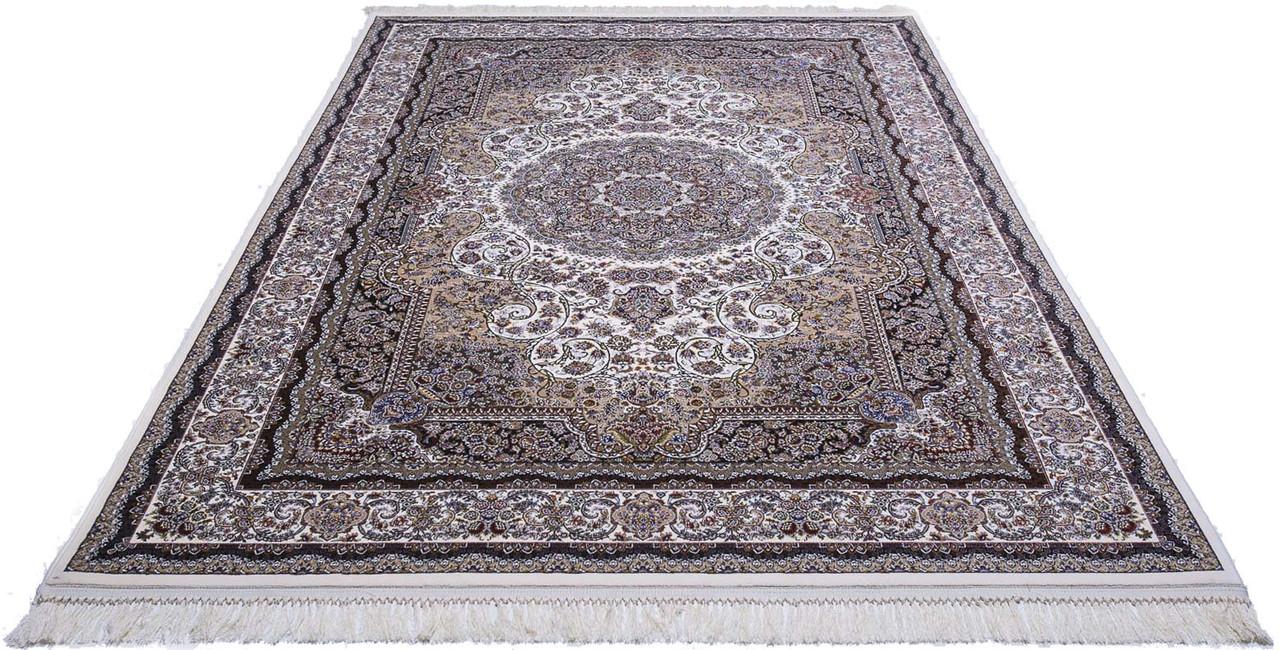 Ковер восточная классика Tabriz 25 2,5Х3,5 КРЕМОВЫЙ прямоугольник