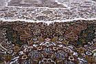 Коврик восточная классика Tabriz 34 1,5Х2,25 КРАСНЫЙ прямоугольник, фото 5