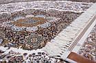 Коврик восточная классика Tabriz 34 1,5Х2,25 КРАСНЫЙ прямоугольник, фото 7