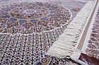 Коврик восточная классика Tabriz 40 1,5Х2,25 КРЕМОВЫЙ прямоугольник, фото 4