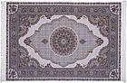 Коврик восточная классика Tabriz 40 1,5Х2,25 КРЕМОВЫЙ прямоугольник, фото 5