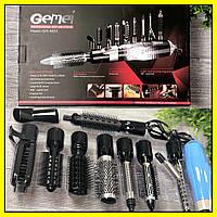 Фен-стайлер для волос 10 в 1 Gemei GM-4833, фото 1