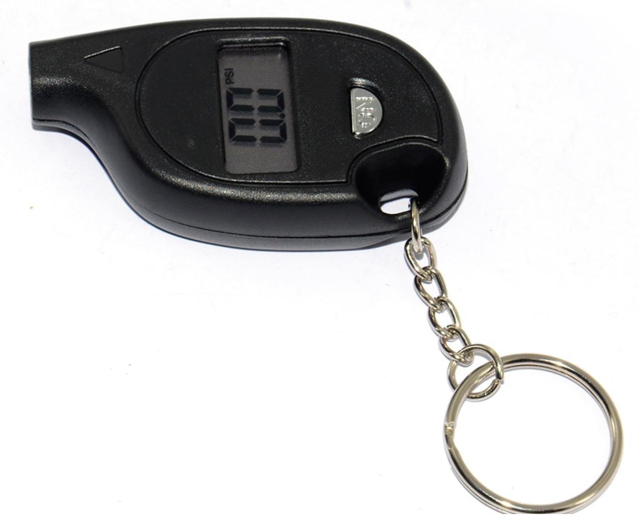 Брелок - манометр электронный для проверки давления в шинах с ЖК дисплеем