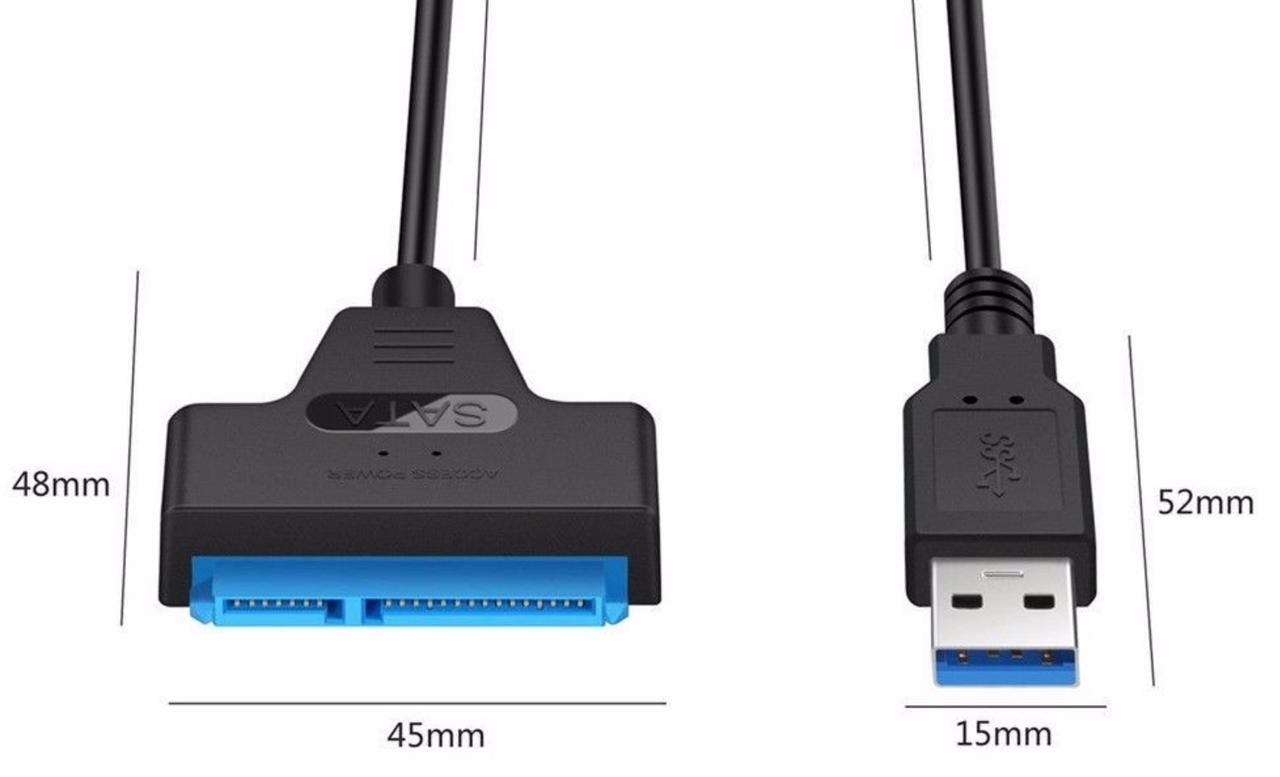 Адаптер USB 3.0 - SSD/HDD