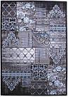 Коврик современный TANGO ASMIN 9734A 1,5Х2,3 Серо-голубой прямоугольник, фото 4