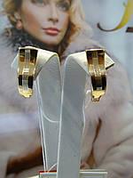 Серьги золотые, фото 1