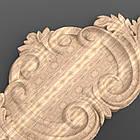 Резной декор. Накладка горизонтальная 435x130x12  NG-011, фото 4