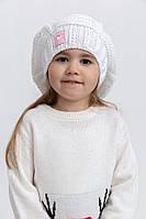 Шапка детская 126R004 цвет Белый