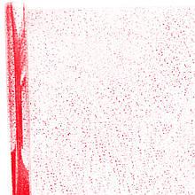 Плівка прозора Сніг червона 400 гр 60 см