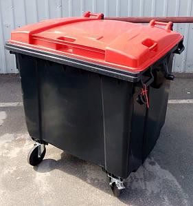 SULO пластиковий контейнер для твердих побутових відходів 1100 л.