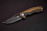 Складной нож Ястреб, для ежедневного ношения, складник типа флиппер с замком Frame Lock
