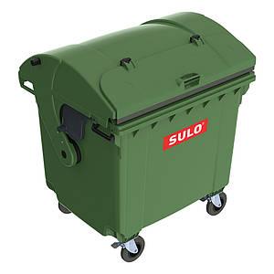 SULO пластиковий сміттєвий контейнер для ТПВ із сферичною кришкою 1,1 м3.