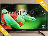 Телевизор Смарт Т2\ Самсунг Samsung 24дм. Гарантия. Рассрочка! Наличие Днепр!\ Андроид ТВ \ Wi-Fi Smart Tv