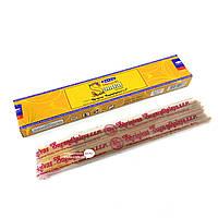 Благовоние Natural Sandal Satya 15 грамм. Аромапалочки Натуральный Сандал (32492)
