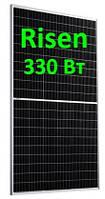 Солнечная панель 330Вт 24Вольт RSM120-330М 9ВB PERC Нalf Сell Risen монокристалл, фото 1