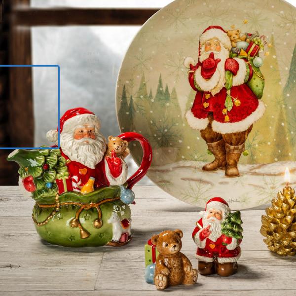 """Чайник """"Дед Мороз в мешке"""", 18 см"""