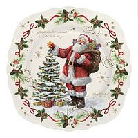 "Десертная тарелка ""Волшебное рождество"""