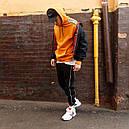 Худи спортивное мужское Адидас (Adidas) оранжевое подростковое, фото 8