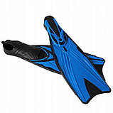 Ласти SportVida SV-DN0005-XXL Size 46-47 Black/Blue, фото 3
