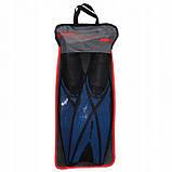 Ласти SportVida SV-DN0005-XXL Size 46-47 Black/Blue, фото 6