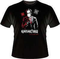 "Стильна футболка ""Karantino"". Друк на футболках, фото 1"