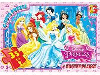 """Пазлы """"Принцессы Дисней"""", 35 ел. PD72"""