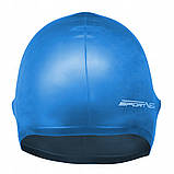 Шапочка для плавання SportVida SV-DN0015 Blue, фото 2