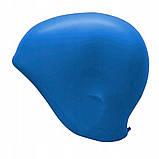 Шапочка для плавання SportVida SV-DN0015 Blue, фото 4