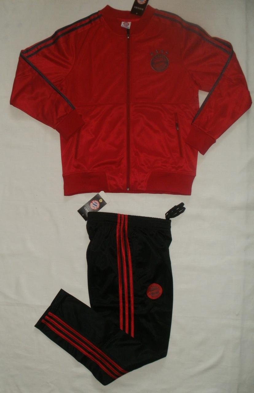 Костюм спортивный детский клубный Бавария/Bayern ( Германия, Бундеслига ), красный,. рост 145-155.