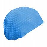 Шапочка для плавания SportVida SV-DN0014 Blue, фото 3