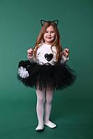 """Детский карнавальный костюм """"Кошечка"""". Юбка- пачка, ушки, хвост."""