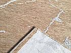 Ковер современный VELVET 7771 1,6Х2,3 Бежевый прямоугольник, фото 2