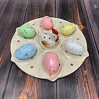 Блюдо, подставка для яиц Курочка 001AP