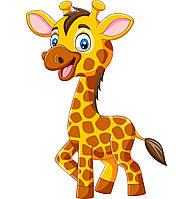 """Картина по номерам """"Жирафик"""" для детей в коробке, 30*40 см"""