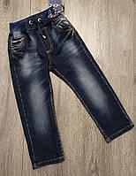 Детские джинсы на резиночке A-Yugi для мальчика  размер 92  на 2 года